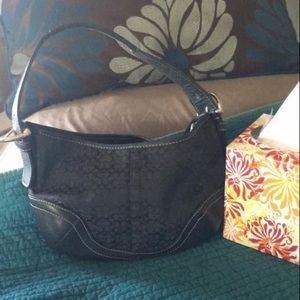 Coach Handbag - Black